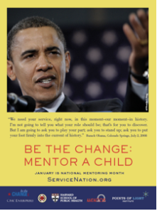 Be The Change, Mentor a Child