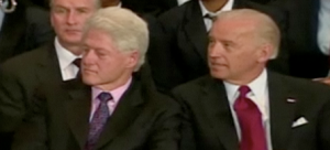 Bill Clinton and Joe Biden
