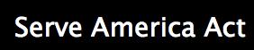 Serve America Act