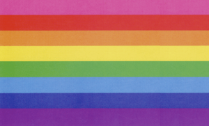 Gay Pride 8-colors Flag by Stonewall Veteran Gilbert Baker