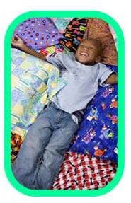 Adorable child from the ConKerr Cancer website