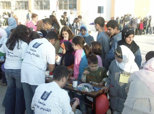 The Operation 7th Day program at Université Saint-Joseph in Lebanon began providing emergency relief following the Israel-Lebanon war in 2006 before expanding into a national scale effort.