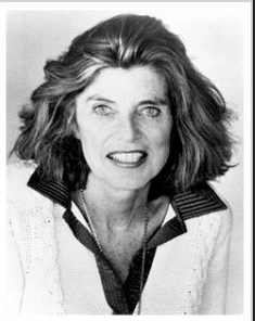 Shriver, from her bio page on her website One Woman's Vision